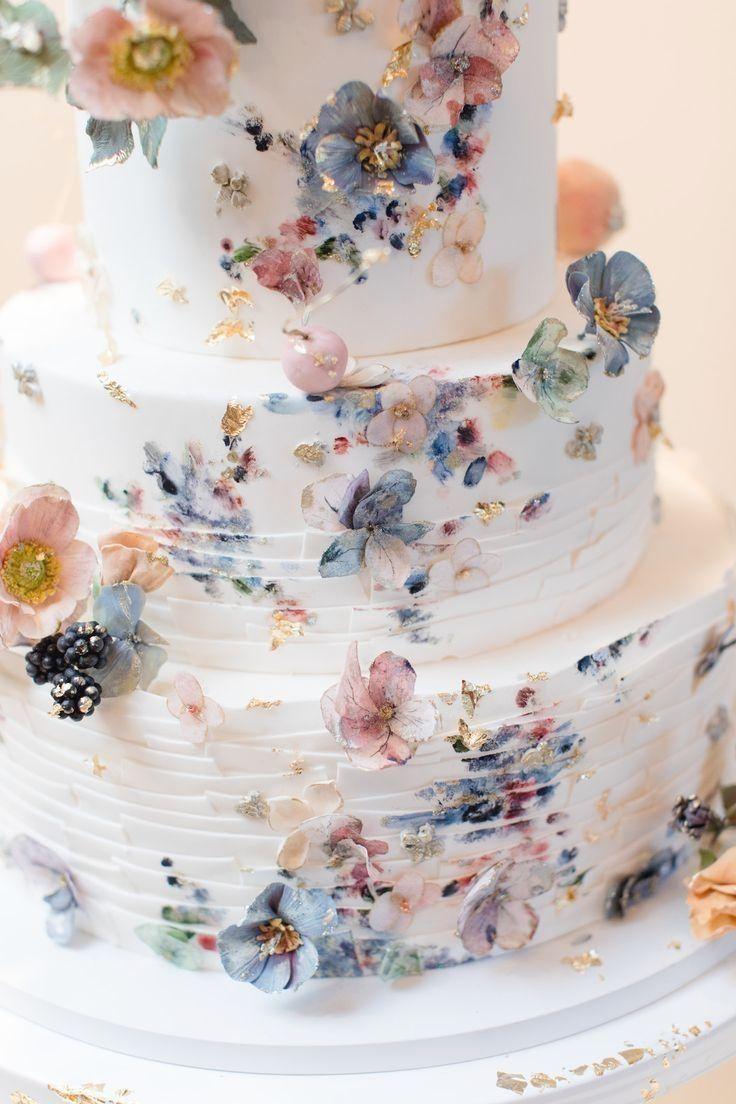 Amazing Rustic Wedding Cakes #cakedesigns