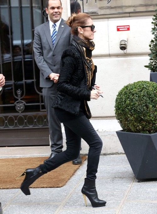 Celine Dion Spotted Without Wedding Ring or Rene Angelil Separation