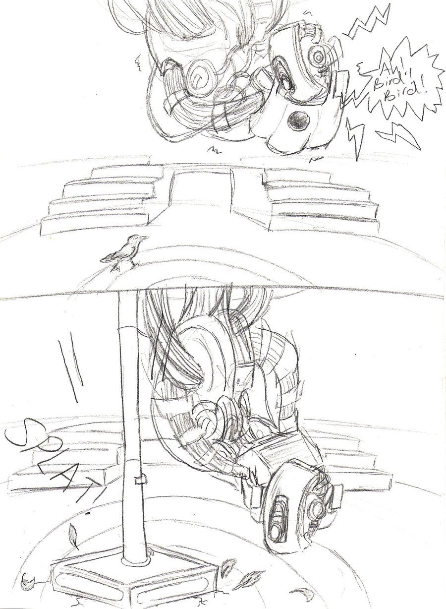 Glados Will Forever Fear Birds After That Potato Incident