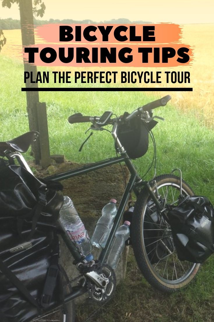 Bicycle Touring Tips Long distance cycling, Bicycle
