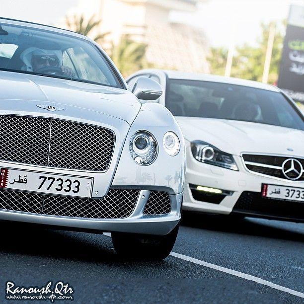 Bentley Continental & Mercedes Benz C63