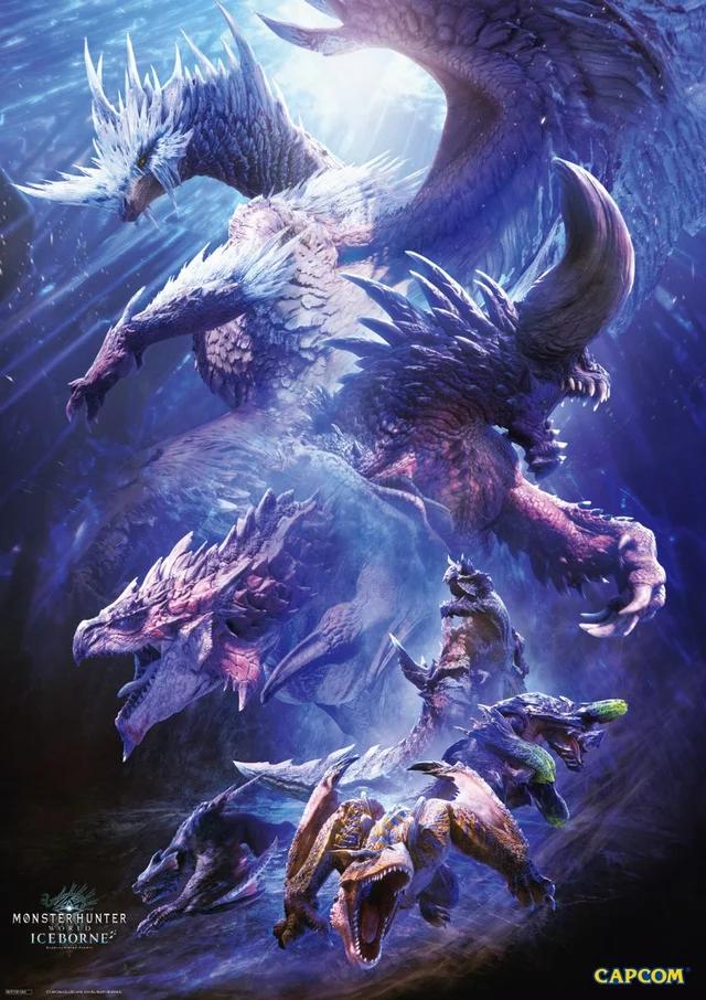 Iceborne Poster Monsterhunter Monster Hunter World Monster Hunter World Wallpaper Monster Hunter Art