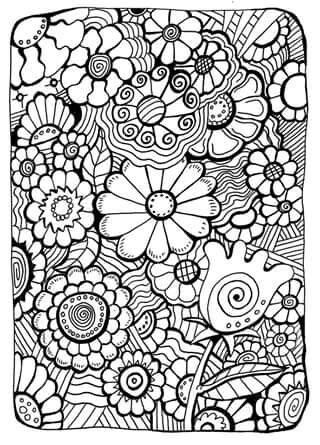 Free Colouring Page Via Thaneeya Mcardle S Website Online Coloring Pages Flower Coloring Pages Free Coloring Pages