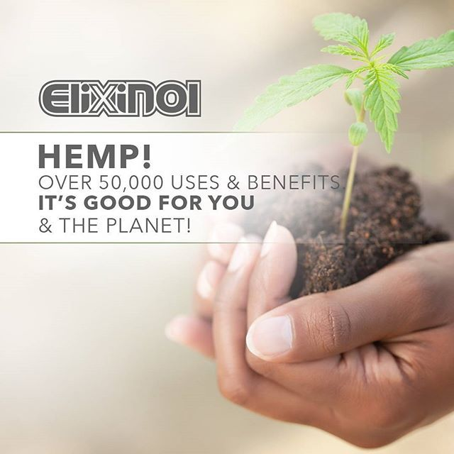 Hemp is good for you and the planet! #Hemp #CBD
