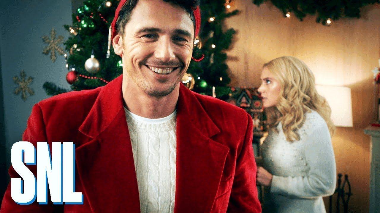 Retro James Franco Spoofing Hallmark Holiday Movies On Snl Snl Hallmark Channel Christmas Movies James Franco