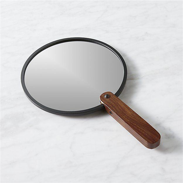 Reflection 8 Hand Mirror Cb2 Hand Mirror Mirror Bath Mirror