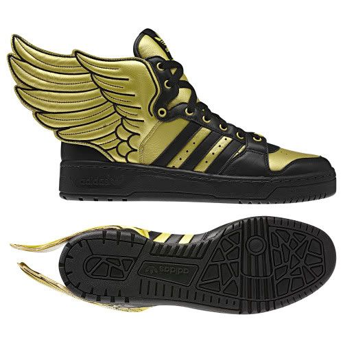 Adidas Shoes With Wings Black