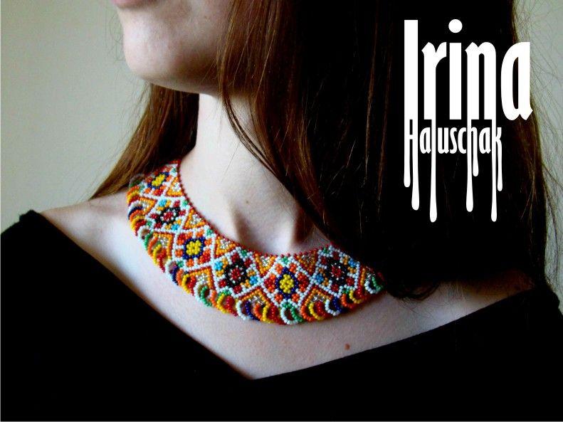 Hand-made by Irina Haluschak: Колье
