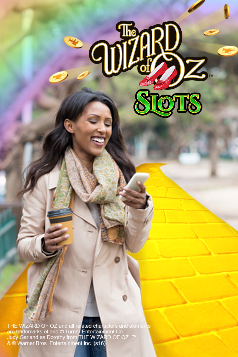Win big when you download Zynga's The Wizard of Oz Slots