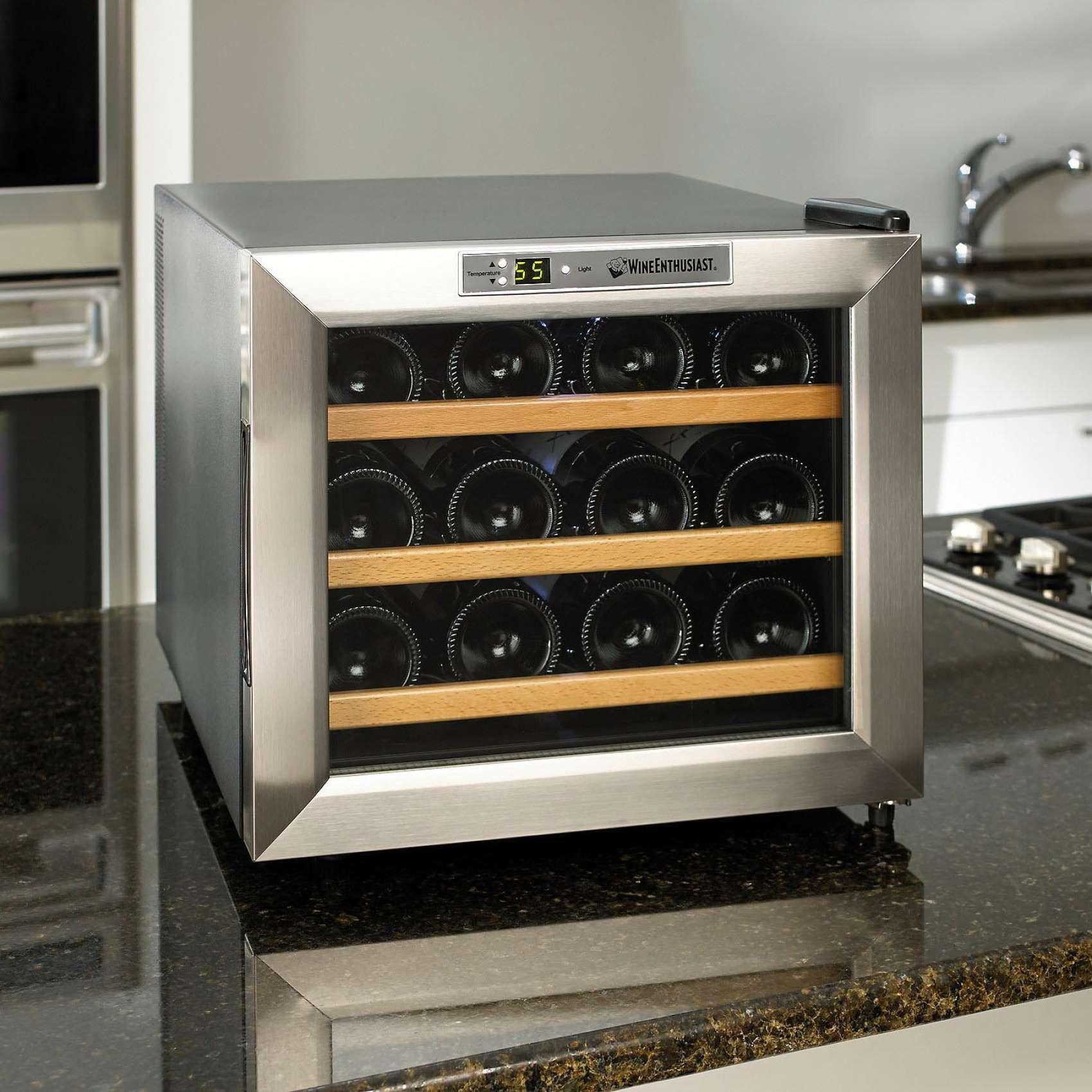 The Best Countertop Wine Refrigerator Hammacher Schlemmer I