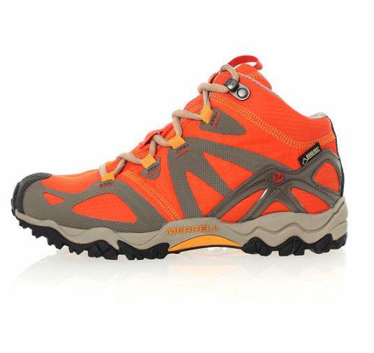 Merrell Womens Grassbow Mid Sports GORE-TEX Trekking Hiking Boots 5113-62407 8ff2a92c5d