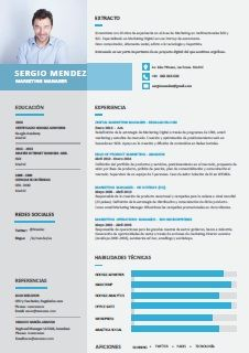 Resultado De Imagen Para Modelo De Cv De Alto Impacto Curriculum