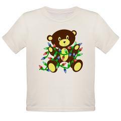 Christmas Lights Bear T-Shirt> Christmas Lights Bear from Flamin Graphic Designs