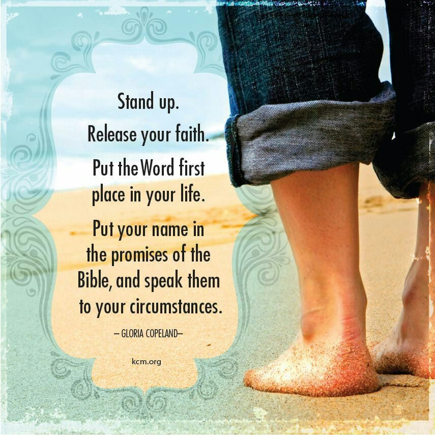 Image result for standing on god's word scripture