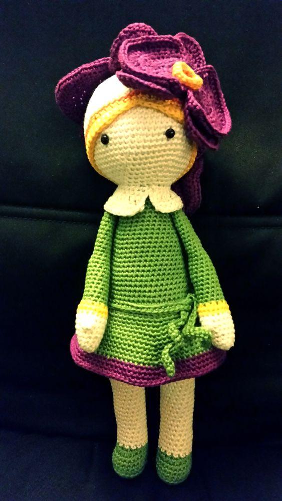 Crochet Flower Doll Patterns by Zabbez Crochet (Designer Interview ...   1000x563