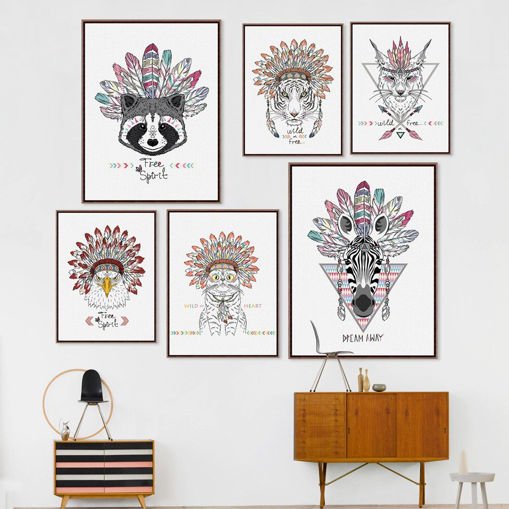 cheap gift radio buy quality gift beer directly from china gift cheap home decor bowl buy quality home decor sets directly from china home movie theater decor suppliers indian animals art print poster horse zebra wall
