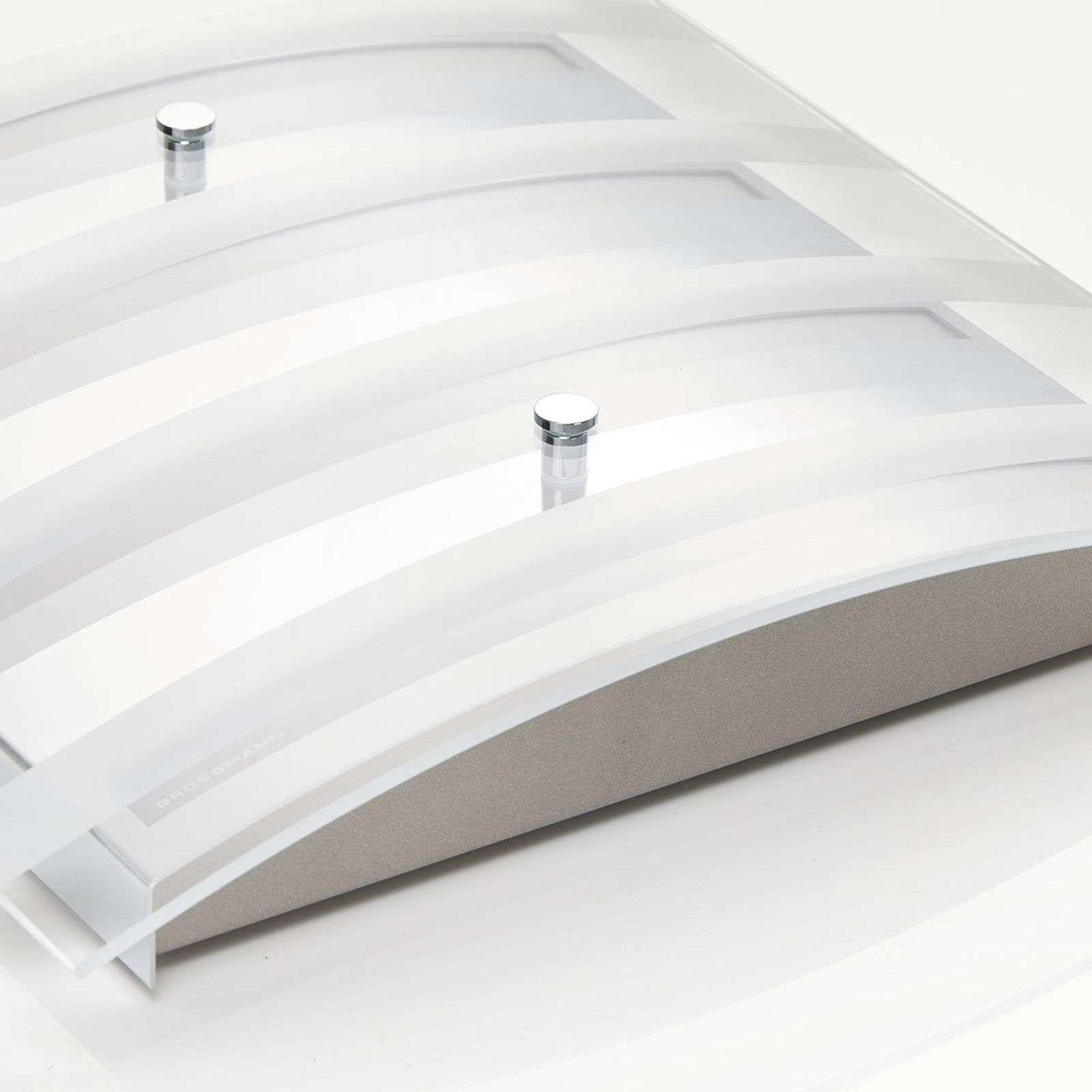 Designer Deckenleuchte Vita von GROSSMANN Silber Led