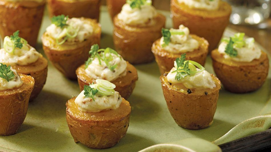 Tiny Twice Baked Potatoes With Smoked Paprika And Bacon Recipe
