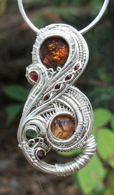 Joel Hocker #wirewrap #jewelry #wirewrapjewelry   aretes   Pinterest ...