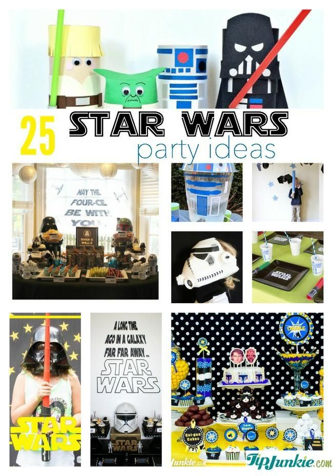 25 Stupendous Star Wars Party Ideas Star wars party Star and Star
