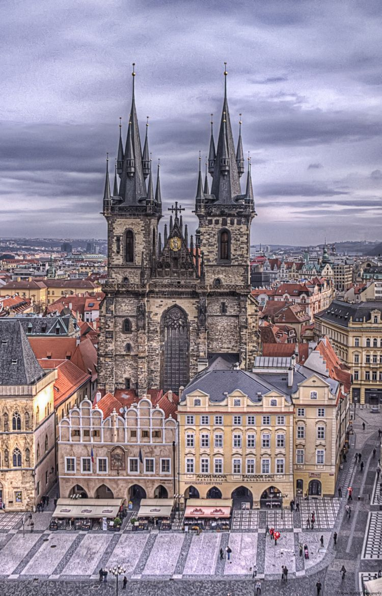 Photograph Two Towers by Ryan Wyckoff on 500px Praque Czech Republic
