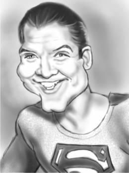 """Goerge Reeves ~ The Original TV Superman"" #Creative #Art in #digital-art @Touchtalent http://bit.ly/Touchtalent-p"