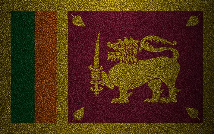Descargar Fondos De Pantalla Bandera De Sri Lanka 4k Textura De