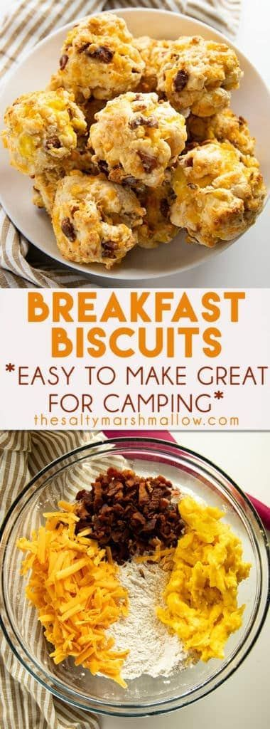 Photo of Loaded Breakfast Biscuits {Camping Breakfast} – The Salty Marshmallow