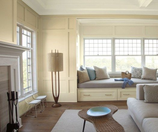 Benjamin Moore Colors For Your Living Room Decor: Just For The Fun Of It ... Window Seats