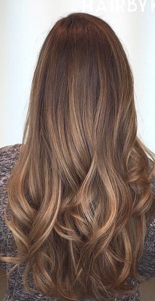 Hair color ideas for brunettes for summer