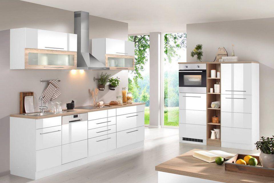 Held möbel küchenzeile mit e geräten breite 440 cm online kaufen otto