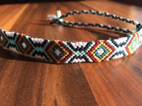 Ankle bracelet making string