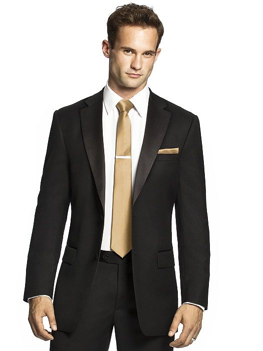 Men's Skinny Tie In Duchess Satin Matches Bridesmaid
