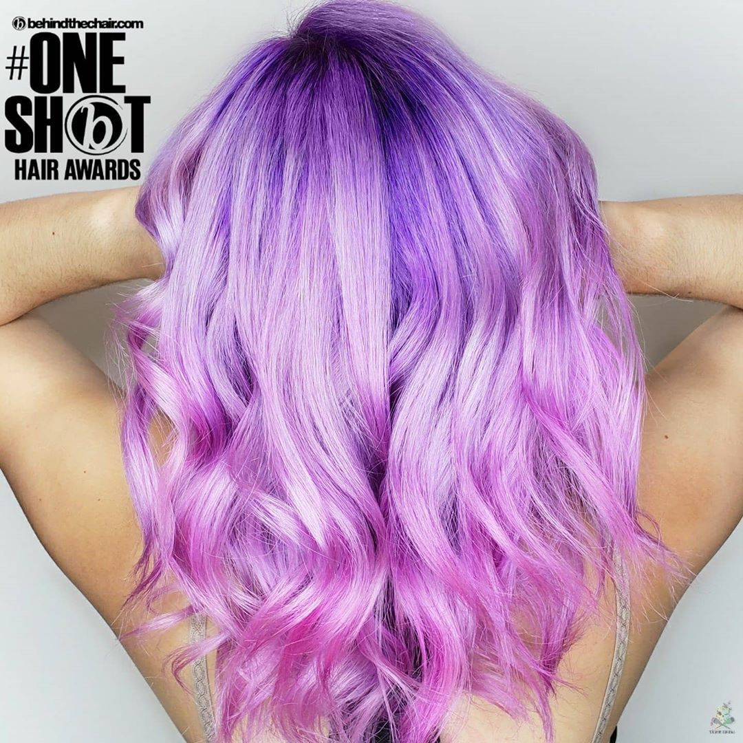 35+ Crazy Hair Color Instagram Pics