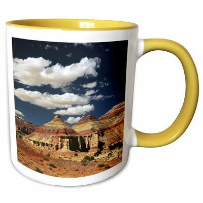 Symple Stuff Scoles Snowboarder Cardiff Fork Wasatch Utah USA Coffee Mug Colour: Yellow, Capacity: 11 oz., Theme: Lampe Bentonite Hills Capitol Reef U