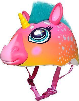 Raskullz Unicorn Helmet Dark Pink Ages 5+ - http://sports.goshoppins.com/cycling-equipment/raskullz-unicorn-helmet-dark-pink-ages-5/