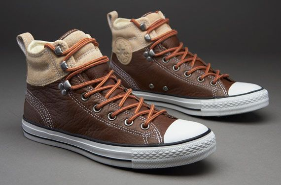 c895e4d55277 Converse Chuck Taylor All Star Hiker 2 Leather - Pinecone Warm Sand ...