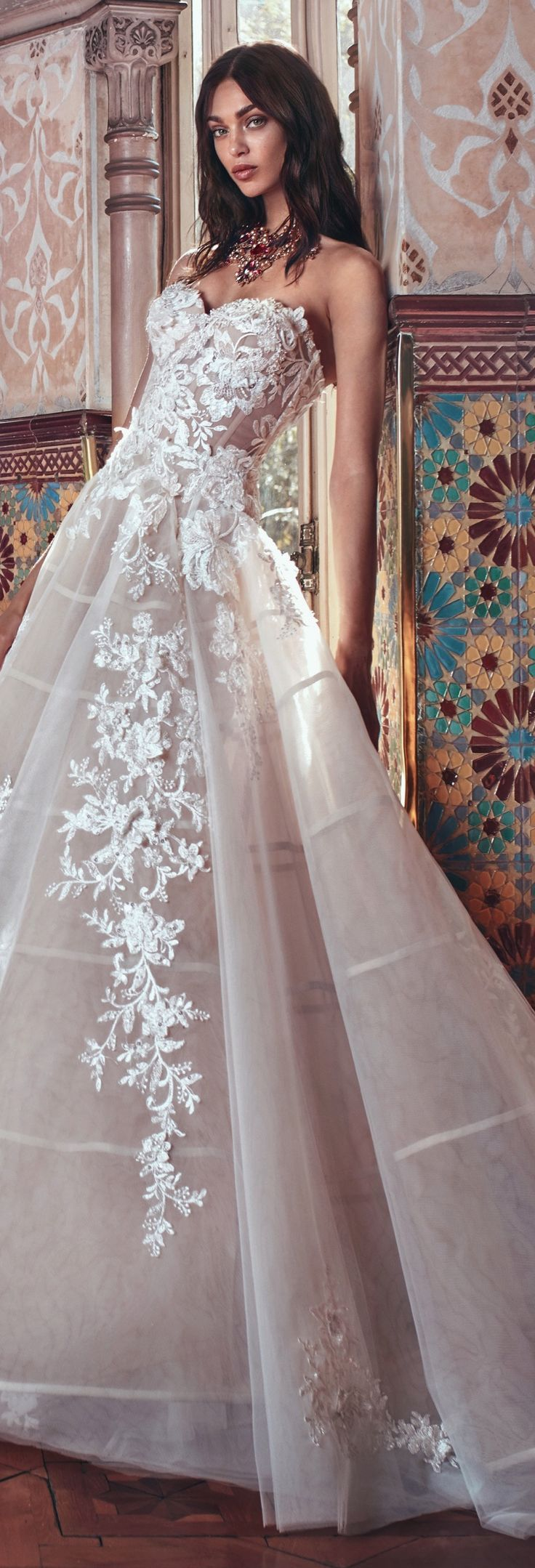 See through corset wedding dresses  A Victorian twopiece full princess ball gown with a dramatic see