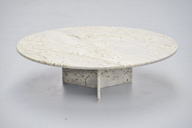 Angelo Mangiarotti Style Coffee Table Italy 1970 Coffee Table