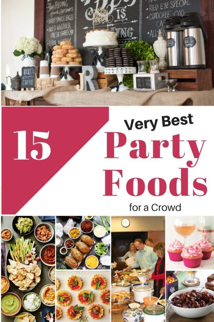 Best party food for a crowd pdf forumfinder Images