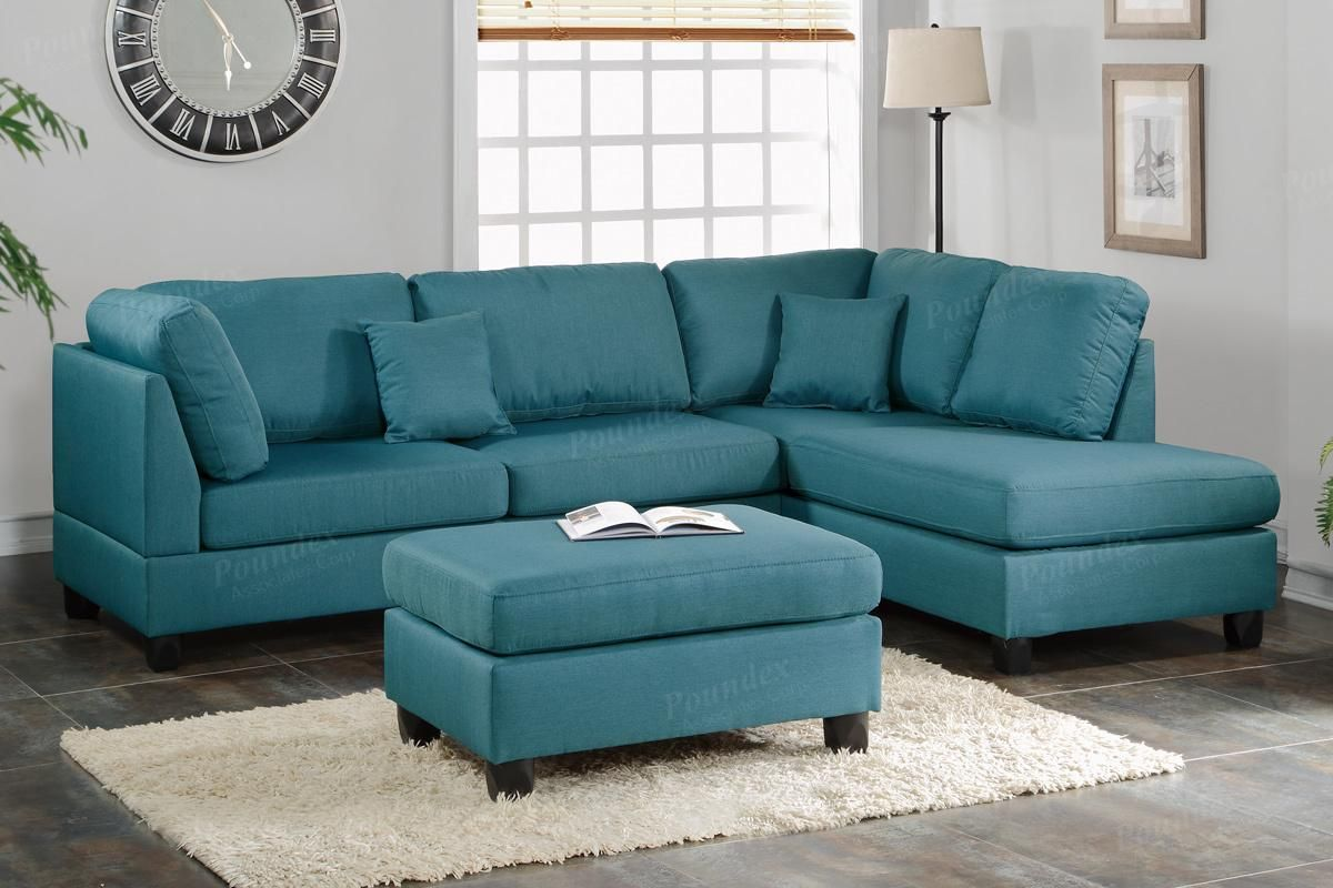 Unique Modern Teal Leather Sectional Sofa For You Fabric