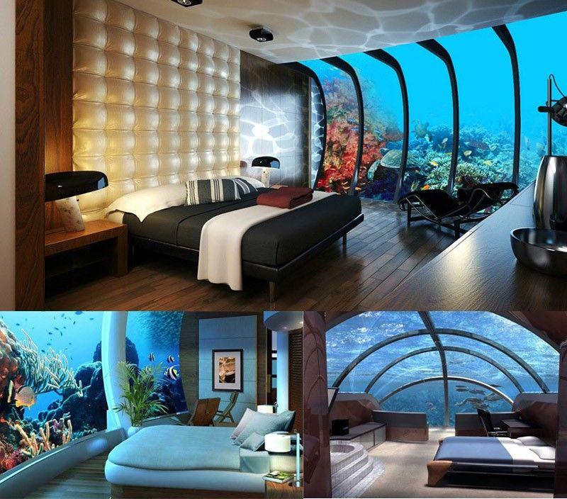 Grand Underwater Bedrooms The Manta Resort, Pemba Island, Tanzania