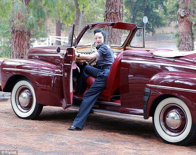 Dita Von Teese Classic Car Risque Lingerie Lingerie Babes
