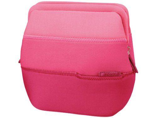 Sony Soft Carrying Case for NEX-5 NEX-3 NEX-C3   LCS-EMG1/P Pink