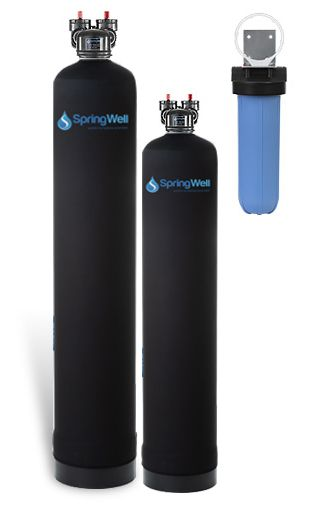 Water Filter And Salt Free Water Softener Water Softener Water Filtration System Water Filter