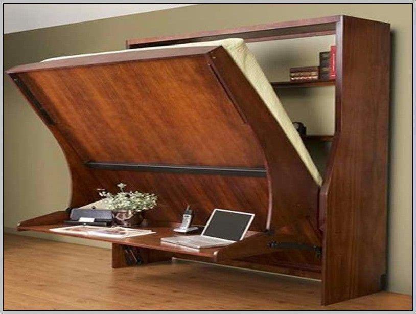 Murphy Bed Desk Murphybedideasikeaguestrooms Office