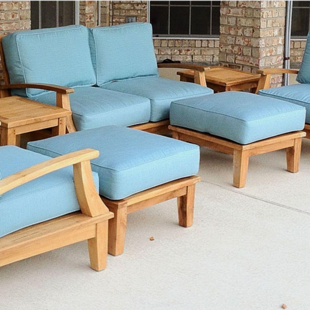 Sunbrella Patio Cushions Outdoor Deep Seating Sofa Cushion