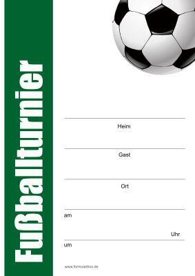 Fussball Plakat Poster Mit Grafik Selbst Erstellen Als Pdf