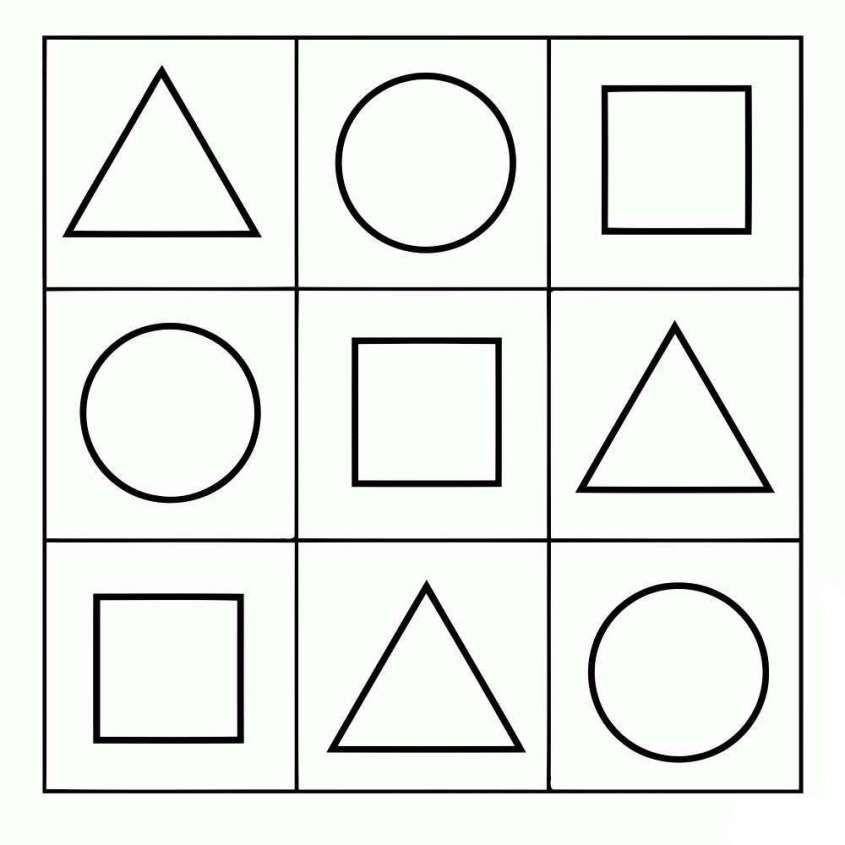 Dibujos geométricos para niños: fotos dibujos - Diseños de figuras ...
