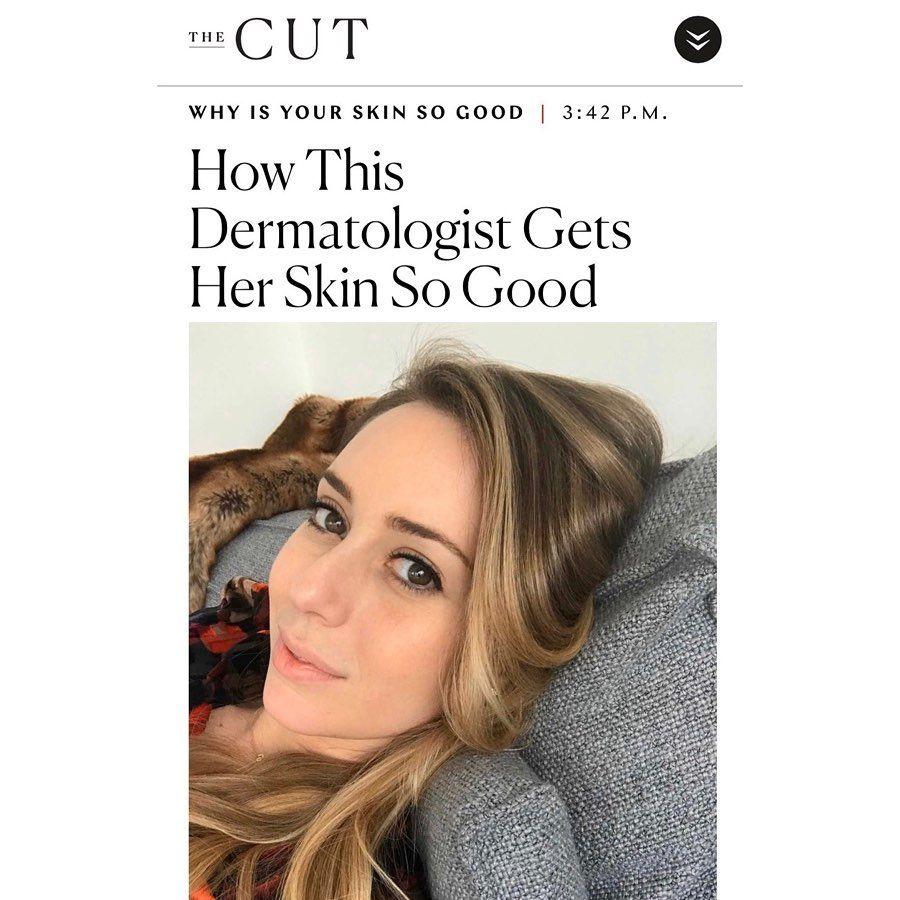 skin care routine face hair